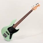 Deluxe Active Jazz Bass V in Surf Pearl