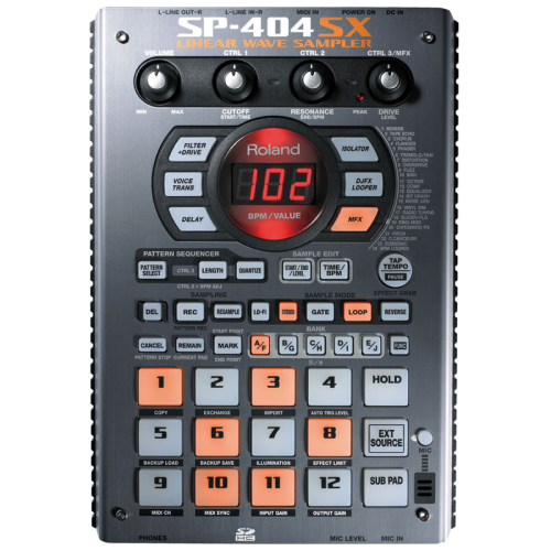 Roland sp-404 sx ~ portable sampler and player | samplers.