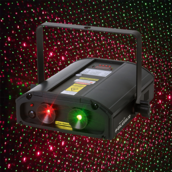 ADJ GALAXIAN3D A Shower of Green & Red Lasers