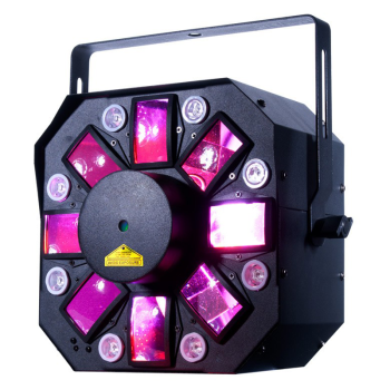American DJ Multi Effect Light with 3 FX and 8 UV LEDs (STINGERII)
