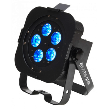 American DJ Low Profile DMX Led Par (FLATPARQA5X)