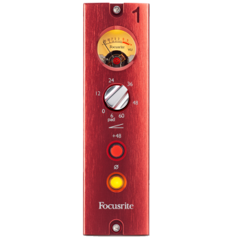 Focusrite RED-1-500 500 Series Mic Preamp