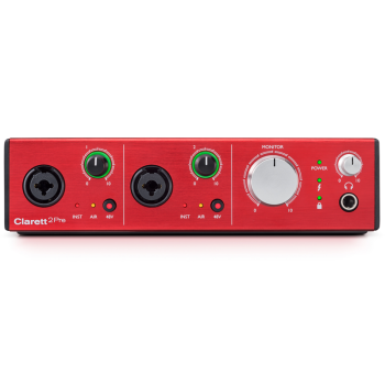 Focusrite CLARETT2PRE 10x4 Thunderbolt Interface