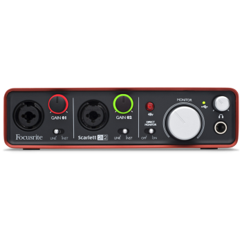 Focusrite SCARLETT2I2 2Ch USB Audio Interface