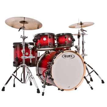 rock n roll rentals mapex mpb2218 gold level meridian maple or pro m drum kit. Black Bedroom Furniture Sets. Home Design Ideas