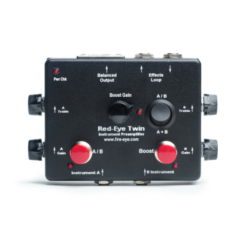 Fire-Eye RI-TWIN Acoustic Preamp & DI with Dual Instrument Inputs