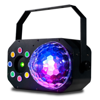 American DJ Multi-Effect LED Moonflower/Color-wash/Laser Fixture (STINGERSTAR)