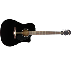Fender Single-Cutaway Dreadnought Acoustic with Fishman Electronics (CD-60SCE)