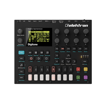 Elektron Digitone 8-Voice FM Synthesizer and Sequencer (DIGITONE)