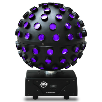 American DJ Discoball Type Sphere Effect Light with RGBWA and UV LEDs (STARBURST)