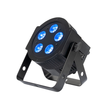 American DJ 5x10w LED Par Fixture with RGBAW and UV with Powercon (5PXHEX)