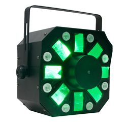 American DJ Multi FX Light with Moonflower, Strobe and Laser (STINGER)