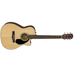 Fender Concert Sized Spruce Top Acoustic Guitar with Cutaway and Electronics (CC-60SCE)