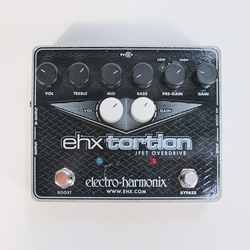 Electroharmonix EHXTORTION JFET Overdrive/Preamp Pedal