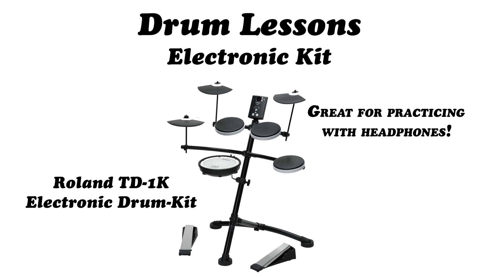 Electronic Drum Lessons Package