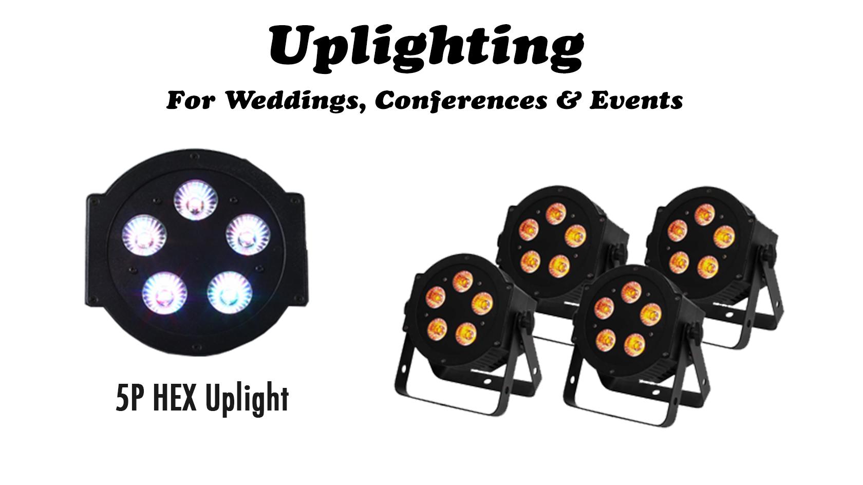 Rent Uplighting Lighting Event Packages Rock N Roll